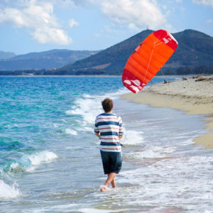 Powerkite / Kite Surf aile de traction